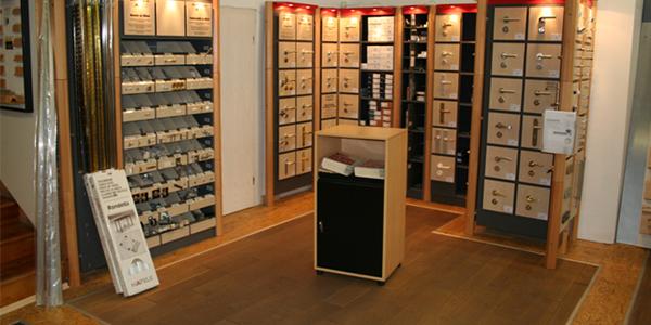 Ausstellung - Produkte vor Ort
